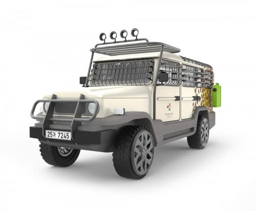 Amphicruiser Concept 1 - Front