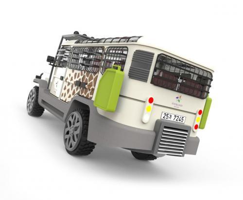 Amphicruiser Concept 1 - Rear